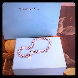 TIFFANY&Co 💯authentic Venetian Box Chain Bracelet